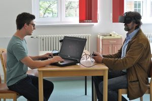 Two project partners are testing a VR application for the rehab of respiratory diseases after Covid19 infection.